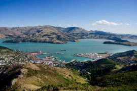 view-Christchurch-Lyttelton-Harbour-New-Zealand